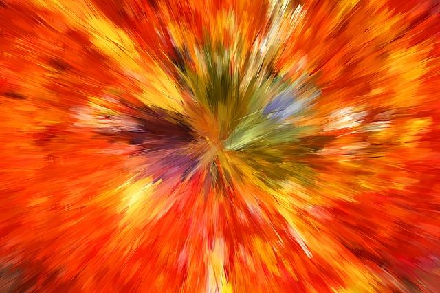 plexiglas kleurexplosie