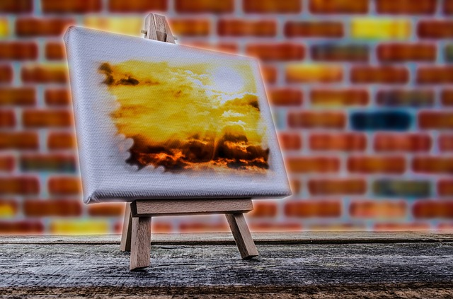 foto op canvas ruw