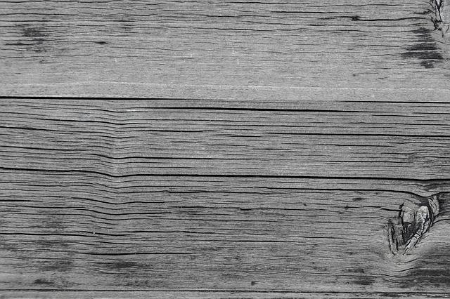 grijs hout